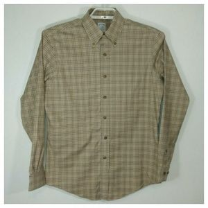 Brooks Brothers Tan long sleeve shirt